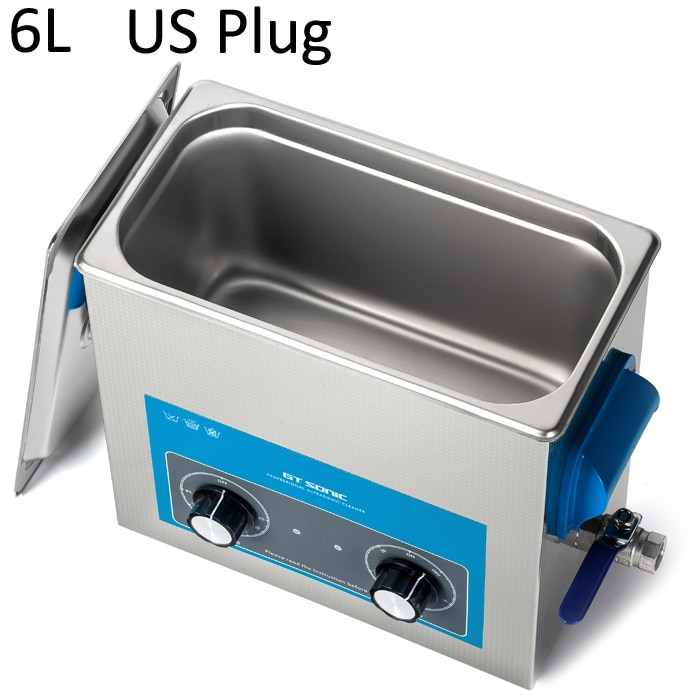 GT sonic 6L VGT-1860QT Ultra sonic limpiador/máquina de limpieza Ultra sonic limpiador joyas gafas