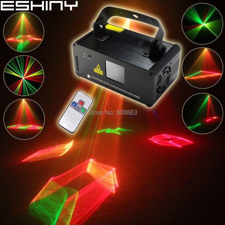 ESHINY 250 RGY лазерный 3D проектор линии луч сканирует удаленный DMX512 светильник DJ танцевальный бар рождественские домашние вечерние дискотека эффект шоу B121D3