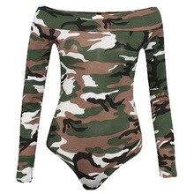 Femmes Sexy épaule dénudée dentelle body Skinny militaire combinaison nervuré tricoté Costumes combinaisons combishorts combinaisons Bodysuit 2019 printemps