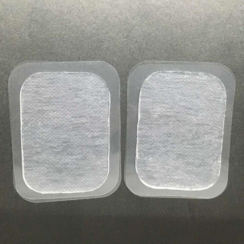 Reemplazo de almohadilla de Gel de entrenamiento para EMS ABS Ajuste de alta conductividad gel hoja transparente bolsa sellada Conjunto de 6 almohadillas de Gel seis almohadillas 30 Uds
