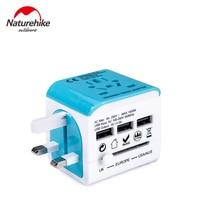 Naturehike New Outdoor Tools Transverter Socket Conversion Plug Adapter Universal Travel Socket USB Connector US UK EU AU Plug