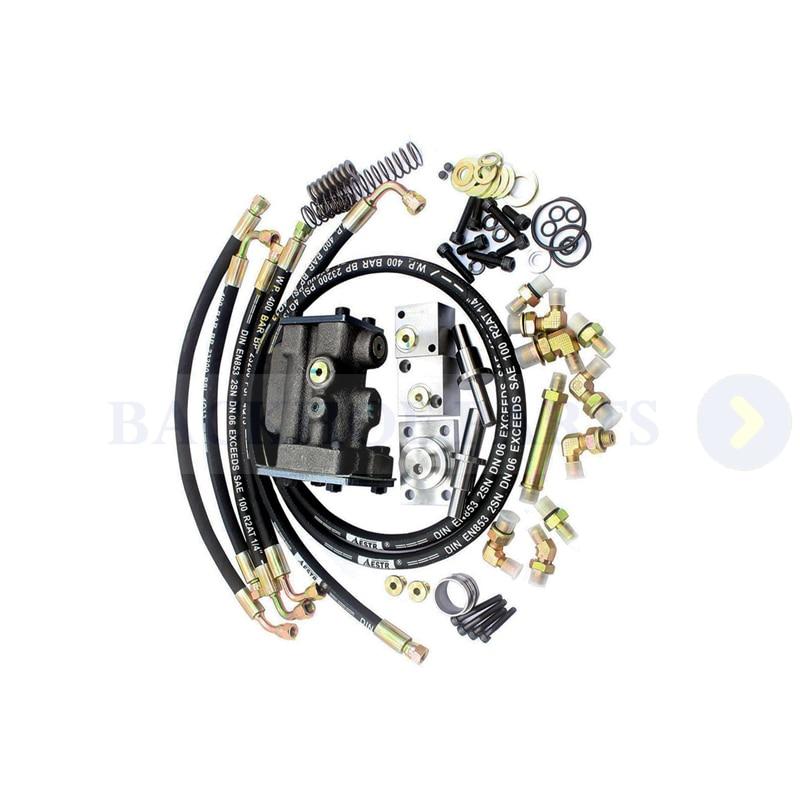 الهيدروليكية مضخة تحويل عدة مع الإنجليزية دليل للحفارات هيتاشي EX200-2 EX220-2 EX200-3 EX220-3