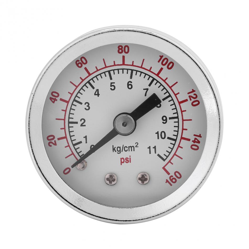 Manómetro manómetro 0-160PSI 1/8NPT medidor de presión de aire y aceite de agua herramienta de prueba de TS-40-160psi