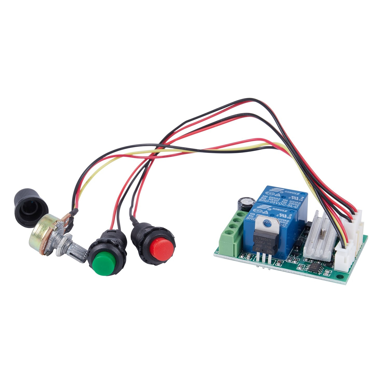 JFBL Hot PWM DC motor governor 6V12V24V reversing switch electric push rod motor controller button