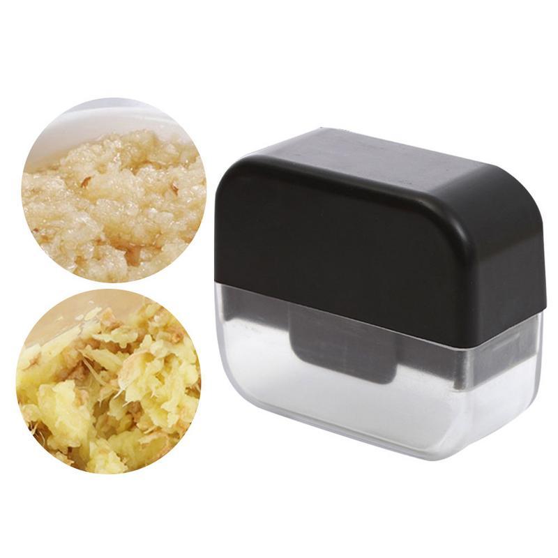 Prensa multifunción para ajo de cocina, innovador rallador deslizante, cuchilla de dos vías, Gringer Manual de acero inoxidable para ajo