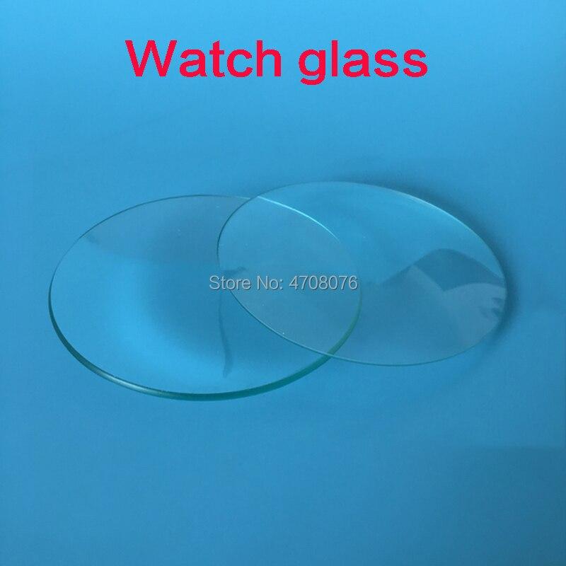 Reloj de vidrio para laboratorio, plato redondo de cristal, reloj de cristal, Petri, cubierta para platos, cristalería de laboratorio para experimentos científicos, dia 90mm, 10 unids/caja