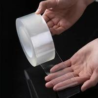 Bande adhesive transparente en acrylique  2 3 5cm  etanche a la moisissure  pour la cuisine et la salle de bain