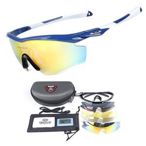 Polarized Cycling Glasses Riding Sunglasses Anti-UV Shortsighted Lenses Holding Glasses Goggles Fishing Eyewear With 4PCS Lenses