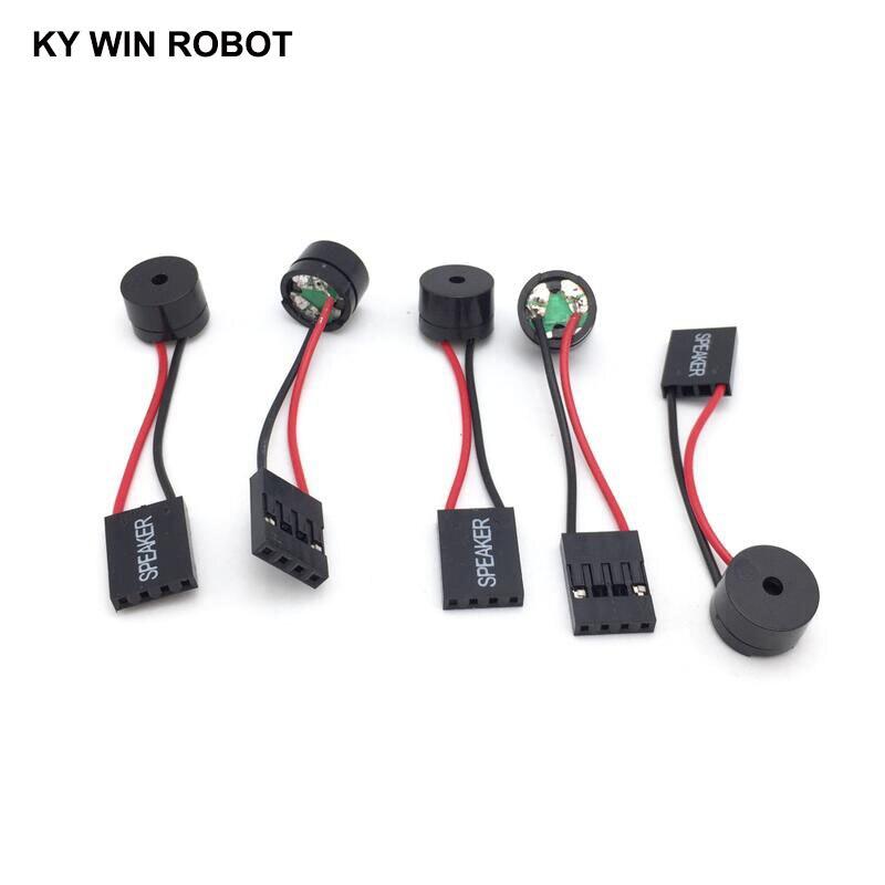5 unids/lote, placa base, Mini altavoz, alarma, placa base, zumbador, chasis de computadora, zumbador para computadora DIY