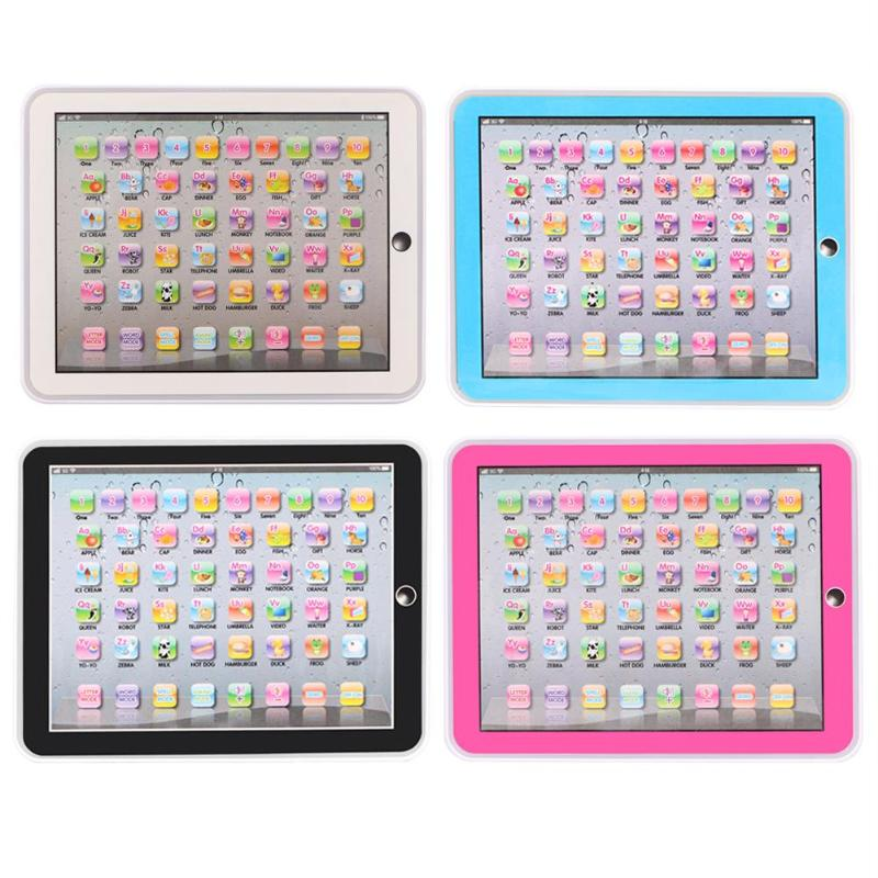 Los niños toquen estudio Tablet inglés educativo de aprendizaje de máquina de Juguetes