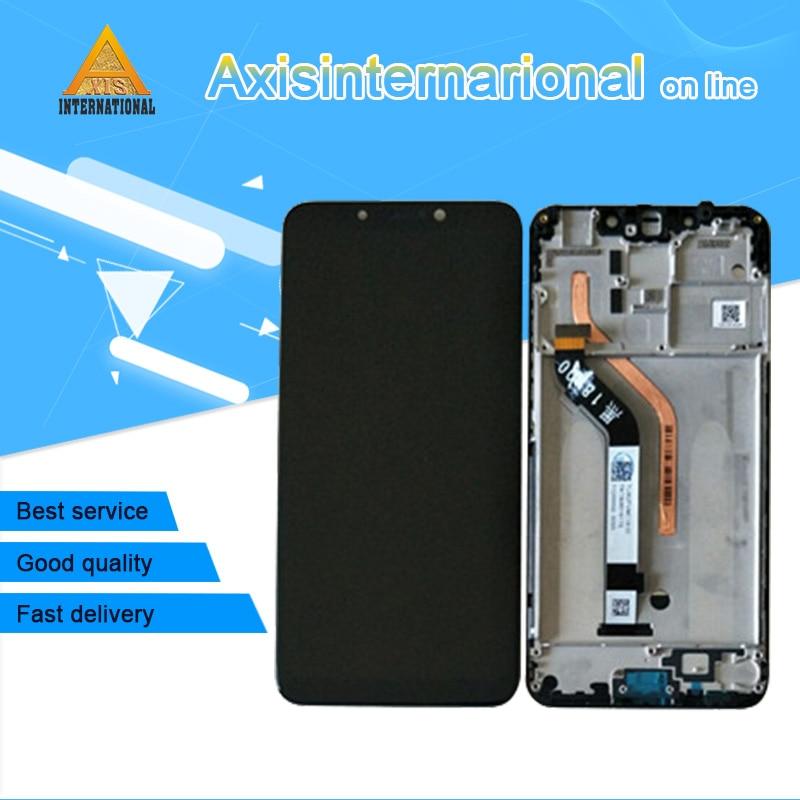 Marco de pantalla LCD Original Axisinternational de 6,18 pulgadas para Xiaomi MI PocoPhone F1 + Digitalizador de Panel táctil para marco LCD Poco F1