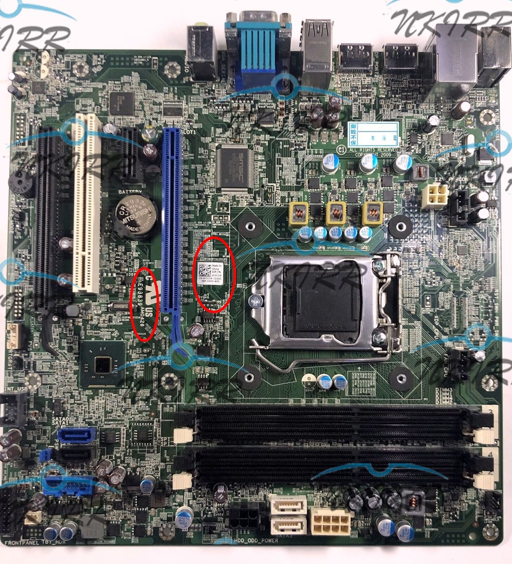 E93839 AM0426 2PJFR 1PCY1 6X1TJ N4YC8 PC5F7 48DY8 73MMW JVY7H F5C5X 8WKV3 DNKMN 3CPWF M5HN1 placa base para 7020, 9020 MT DT