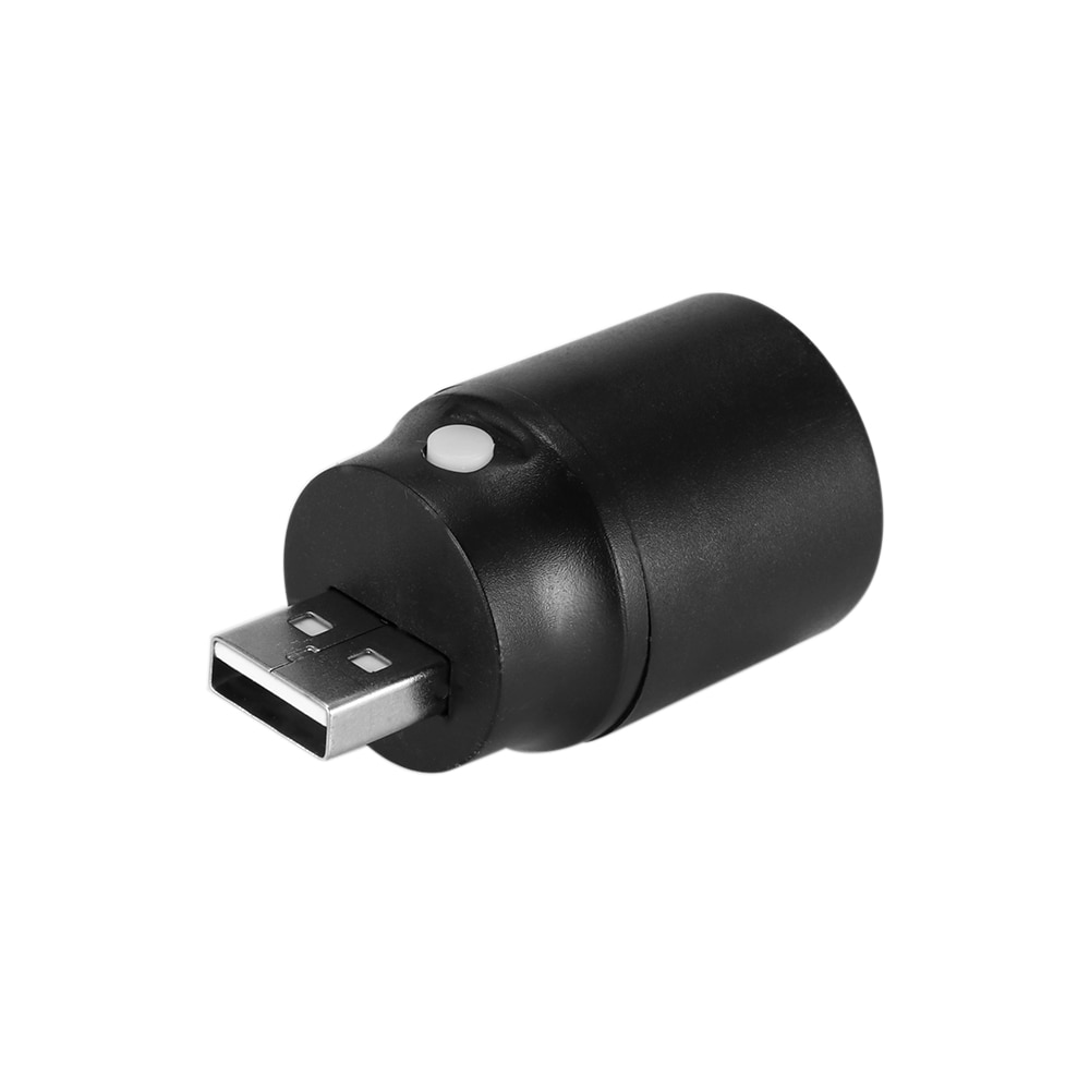 Portátil 1W 120lm USB Lámpara blanca lámpara LED USB Luz Powerbank LED luz nocturna Torchlight con interruptor