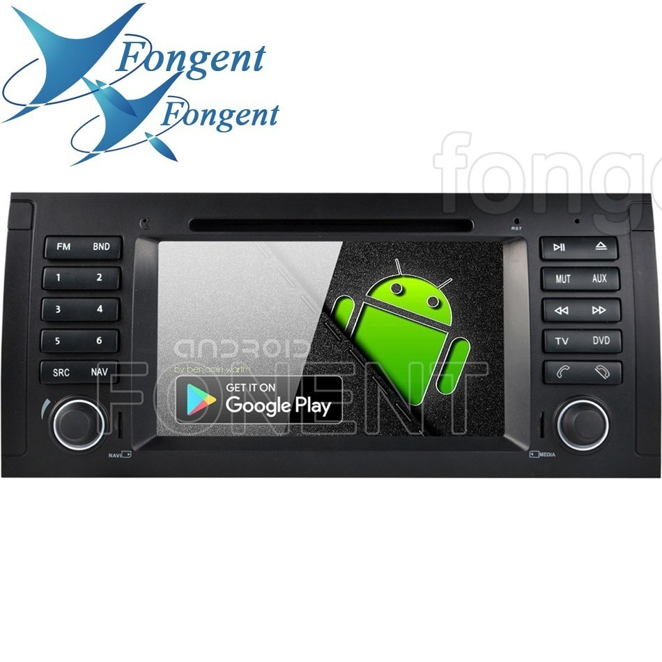 Para BMW X5 E53 E39 E38 M5 5 7 Serie Radio Multimedia GPS Navigator estéreo Android 9,0 ocho Octa RK339 PX6 coche 1din reproductor de DVD