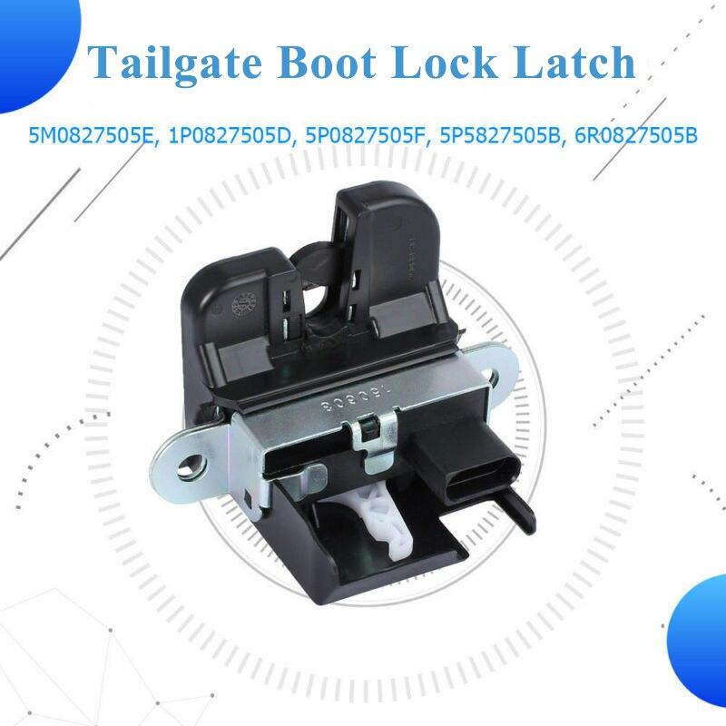 Para SEAT LEON (1P1) ALTEA 5P1 puerta trasera cerradura de cargador pestillo mecanismo de captura actuador