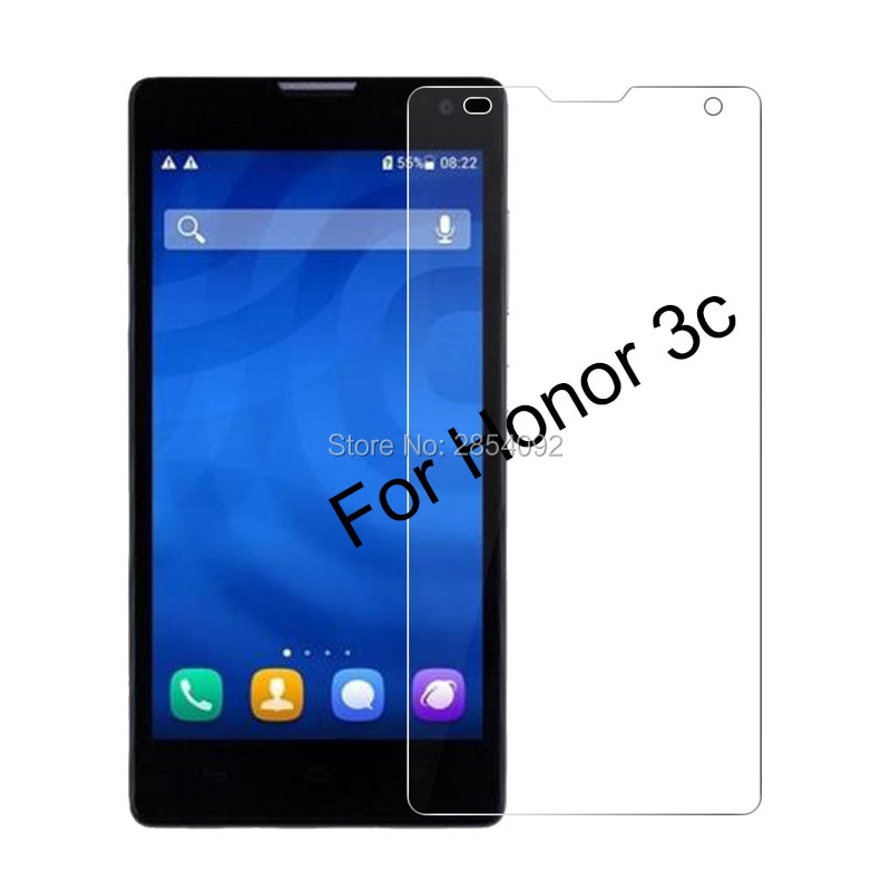2.5D Front 9H Cover Tempered Glass For Huawei Honor 3C Screen Protector Toughened protective film Fo