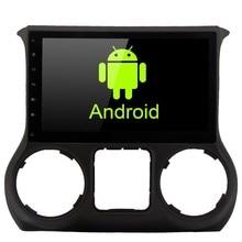 "10.2 ""Jeep Wrangler 용 Android Auto 1 din DVD 라디오 플레이어 2011 2012 2013 2014 2015 2016 자동차 스테레오 멀티미디어 GPS 네비게이터"