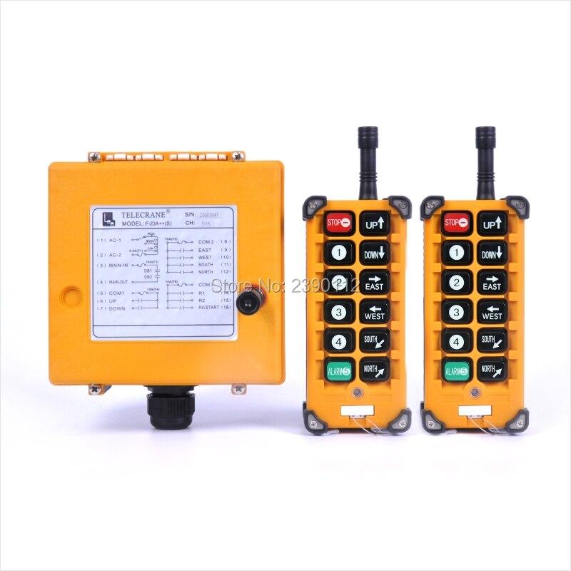 Série F23 F23-A ++ industrial hoist controle remoto sem fio interruptor 2 1 Transmissor Receptor