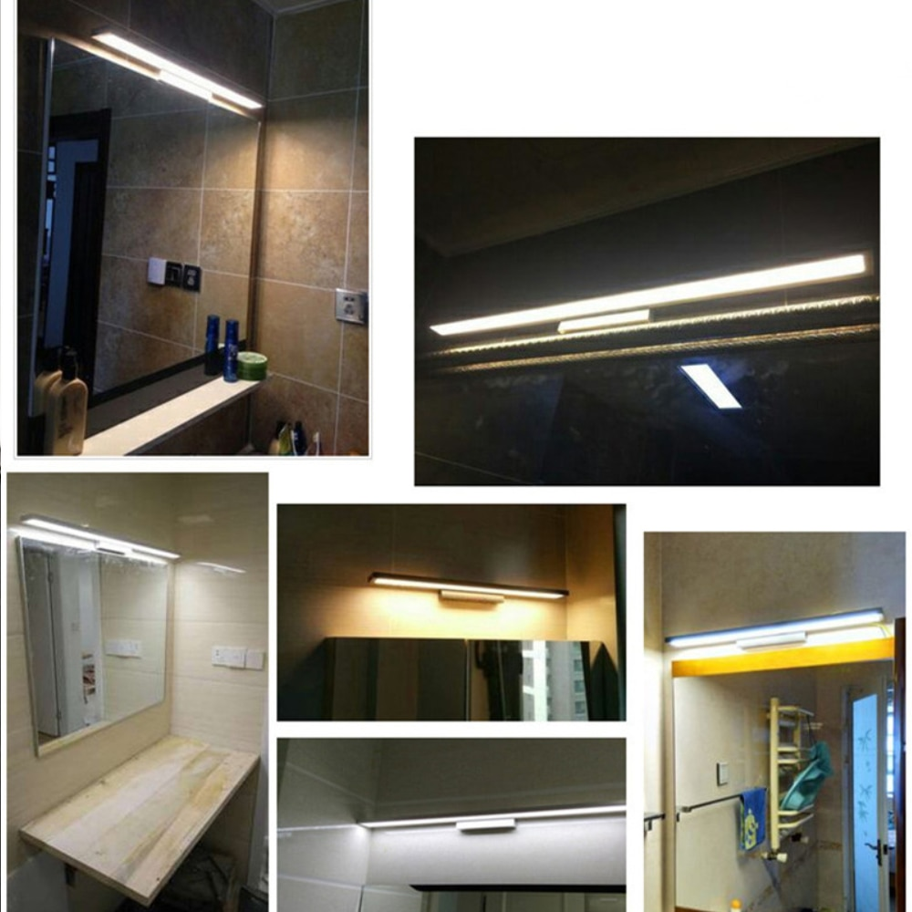 Modern LED Mirror Light 5W 8W 11W Wall Lamp Mounted Indoor lamp Fixture Bathroom washroon makeup sconces lighting fixture  - buy with discount