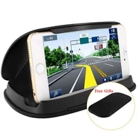 universal gps holder car phone holders for navigation 3 6 8 inch free gift anti slip mat and nome phone stand