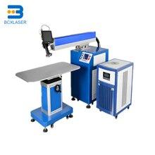 Professionnel machine de soudage laser pour La Publicité Mots/machine de soudage laser pour dos en acier inoxydable deau