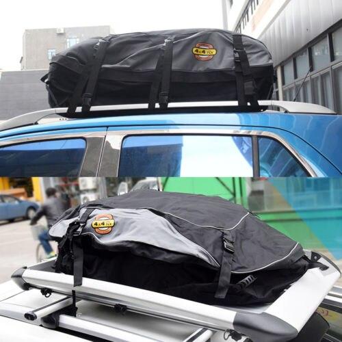 Bolsa para techo de coche de 130x100x45 cm, bolsa para techo, portaequipajes, almacenamiento de equipaje, viaje, impermeable, furgoneta SUV para coches