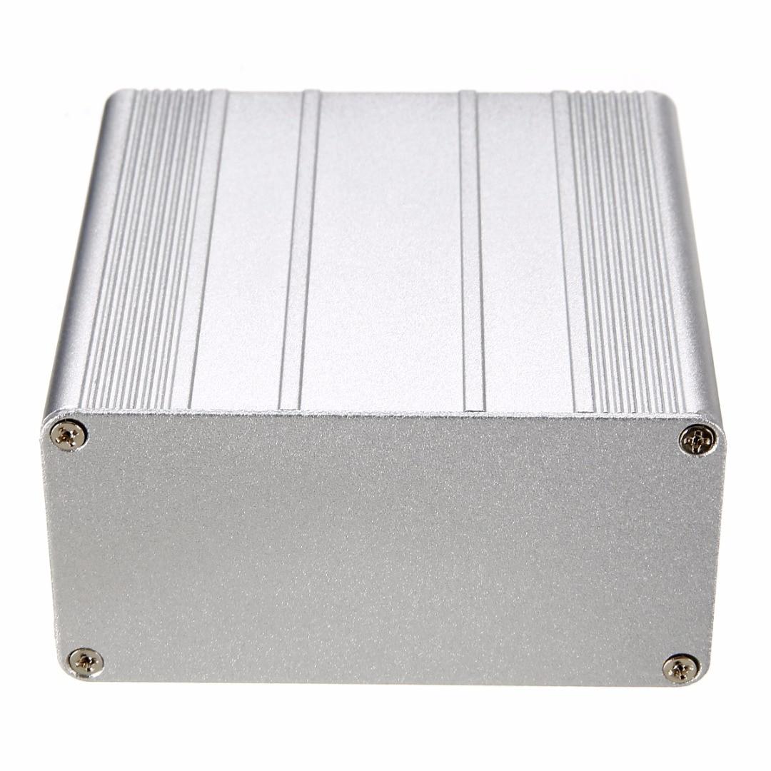 Caja proyecto impermeable de aluminio carcasa electrónica DIY PCB carcasa de instrumento 100x100x50mm