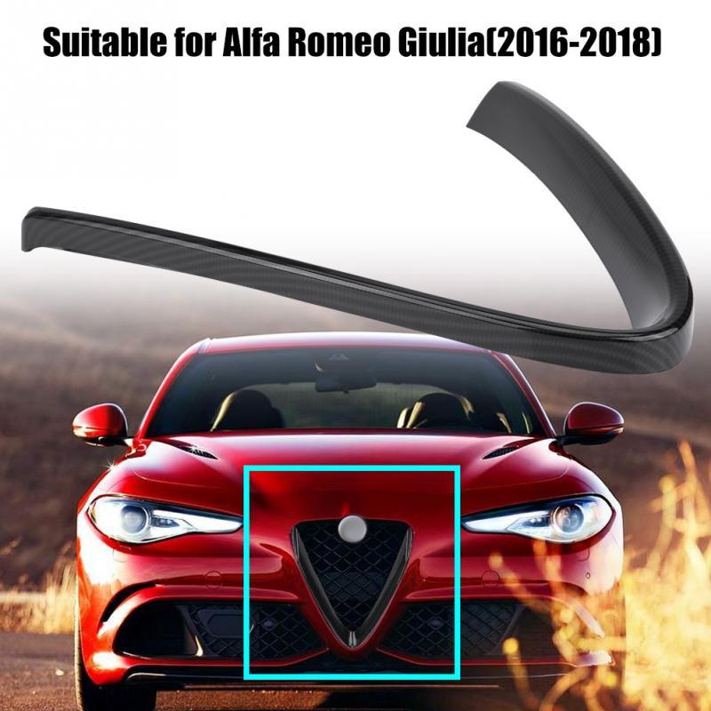 Para Alfa Romeo Giulia 2016 2017 2018 parrilla frontal protectora cubierta de Marco Trim