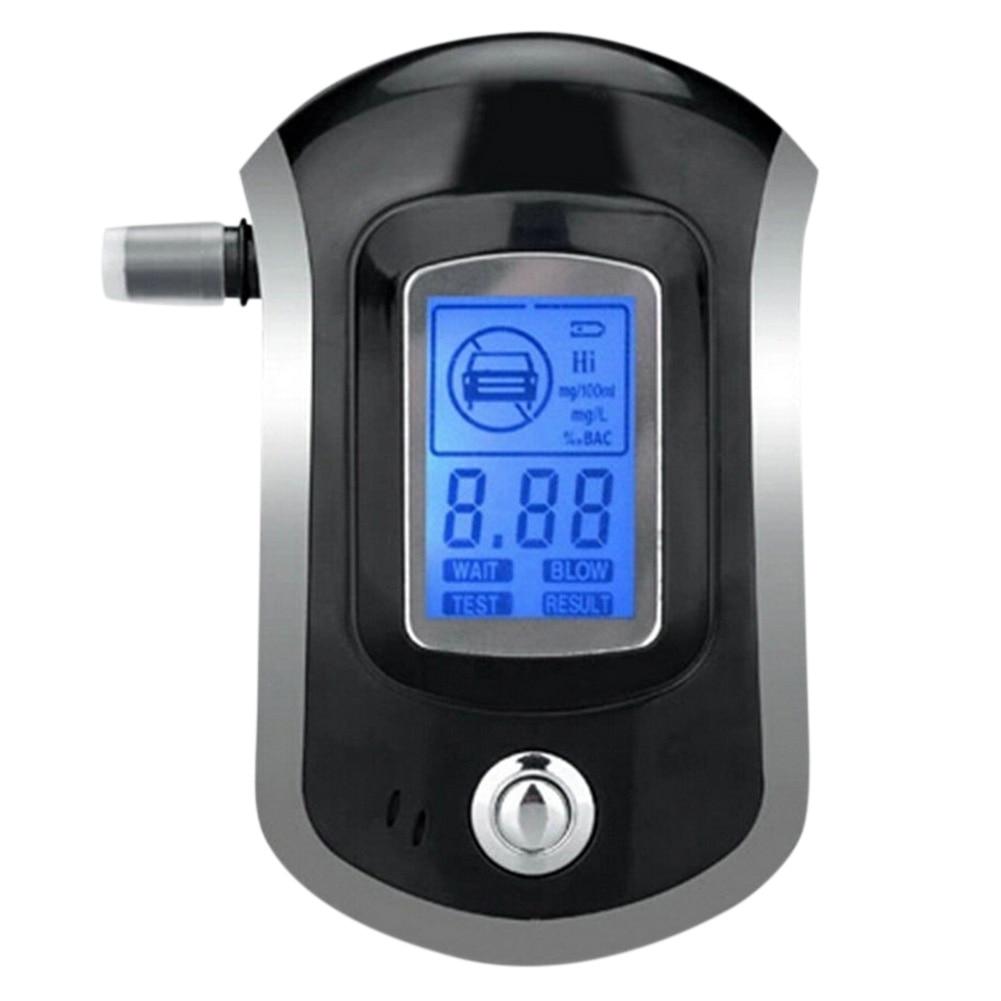 2019 profesional Mini policía Digital LCD pantalla Breath Alkohol alcoholímetro