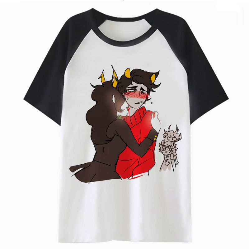 Homestuck camiseta harajuku hip tee top camiseta t-shirt dos homens de roupas streetwear masculino para engraçado hop P1228
