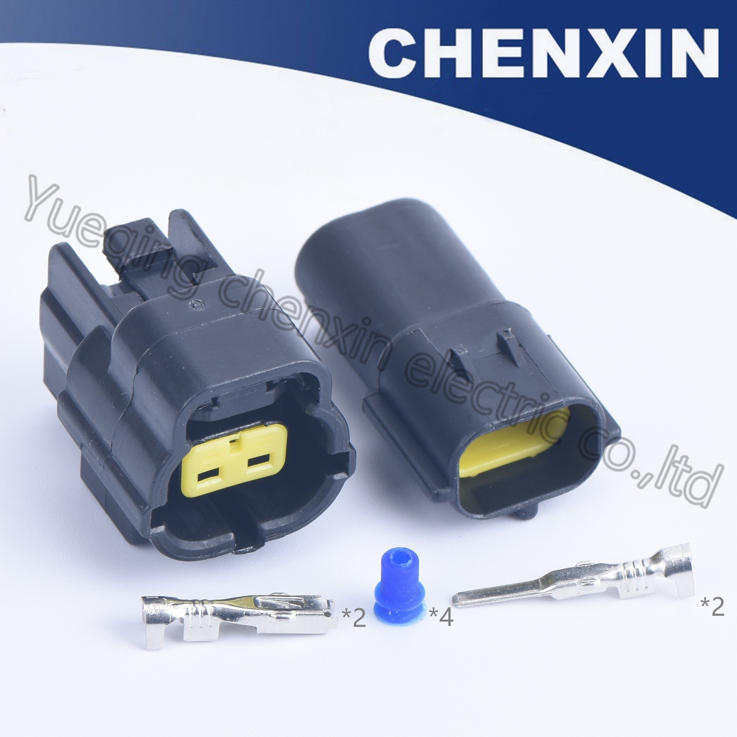 Conectores de coche impermeables 2 p 1,8 macho y hembra 174352-2/174354-2 Temperatura de aire de admisión (IAT) conector de sensor cables adaptres enchufes