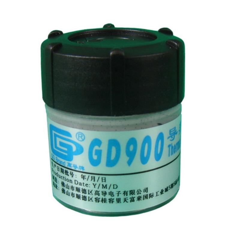 GD GD900 pasta térmica conductora de silicona yeso disipador de calor compuesto 2 piezas peso neto 30 gramos gris de alto rendimiento
