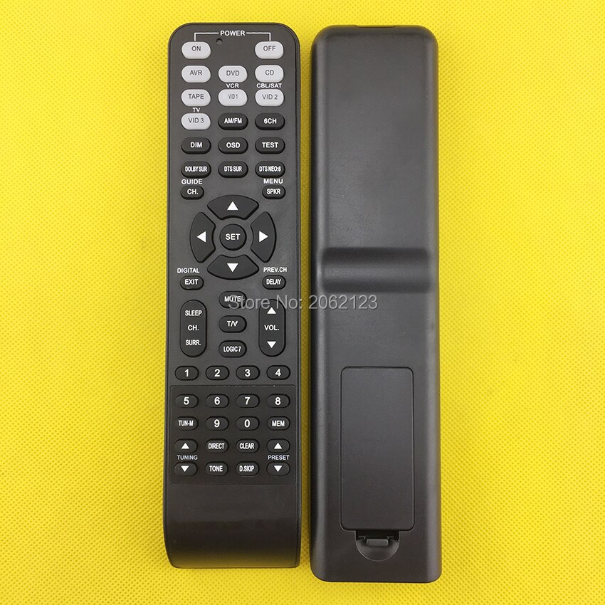 REPLACEMENT REMOTE CONTROL FOR AV RECEIVER HOME THEATER  AVR360 AVR5550 AVR510  AVR535  avr1565 avr1566 AVR120