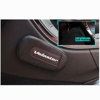 High Quality Leather Leg Cushion Knee Pad Car Door arm pad Interior Car Accessories For Hyundai Veloster