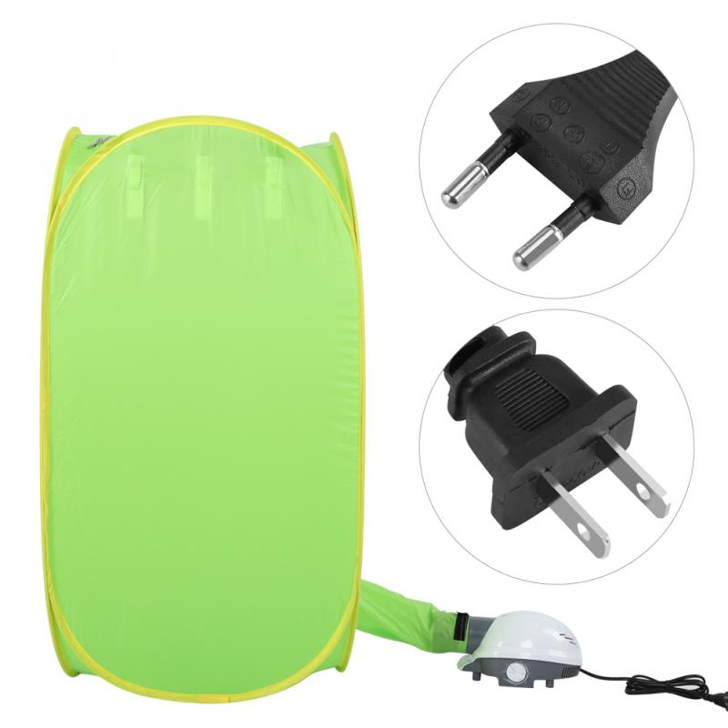 Secador de ropa eléctrico portátil plegable soporte de suelo Dispositivo de secado rápido estante de acero inoxidable secadora plegable