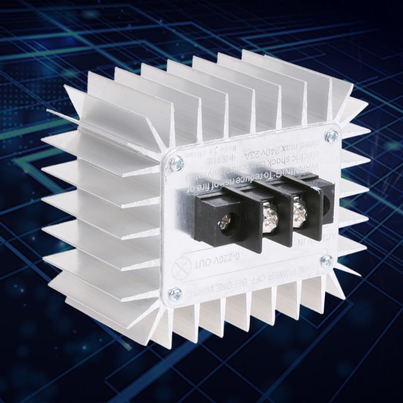 Regulador de voltaje electrónico SCR CA 220V 5000W regulador de velocidad de temperatura regulador de atenuación módulo regulador