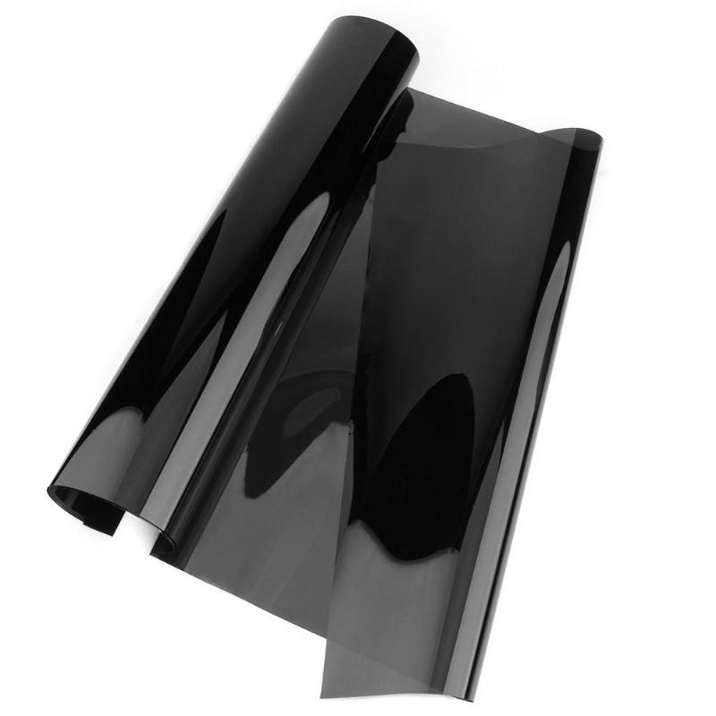 1m*50cm VLT Black Car Home Glass Window Film Auto Window Tint Tinting Film Roll Solar Protection Auto Accessories