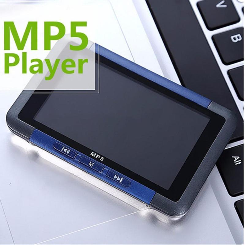 VODOOL MP5 3'' 8G 16G Slim LCD Screen MP4 Music Video Player Recorder E-book Reader MP5 Player FM Radio MP4 Player Music Player