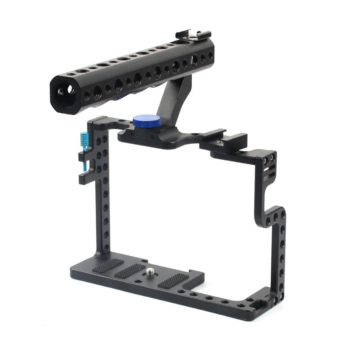 Камера клетка видео стабилизатор с верхней ручкой для Panasonic Lumix GH5 камера фото студия комплект