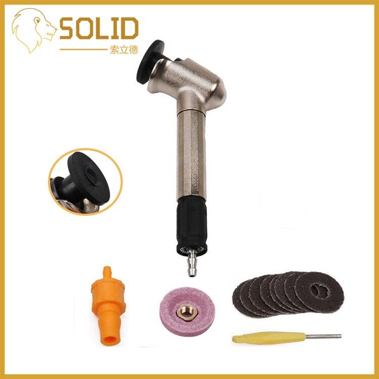 Amoladora de aire de 120 grados, máquina neumática para pulir y tallar