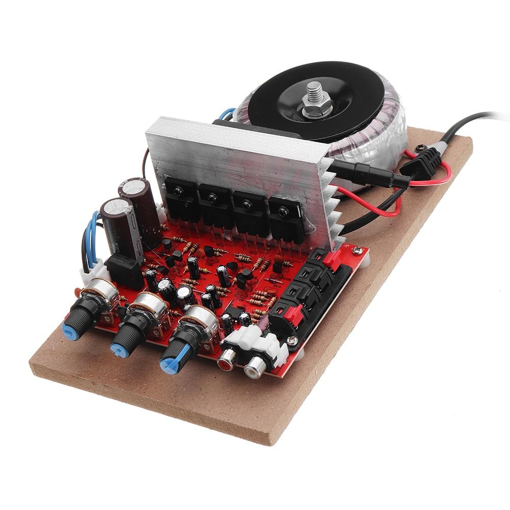 200W 220V High Power Amplifier Field Effect Transistor Front And Back  Hi-Fi Power Amplifier Board