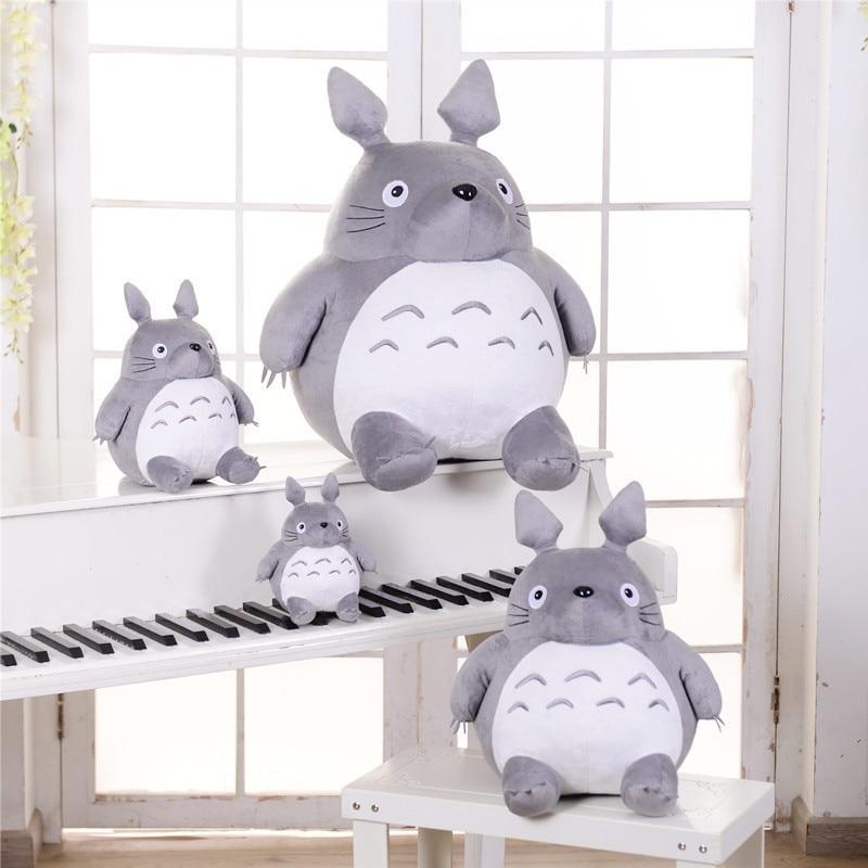Hot Totoro Soft Stuffed Animal Cushion My Neighbor Plush Doll Toy Pillow  For Kid Baby Birthday Christmas Gift 6/8/20cm
