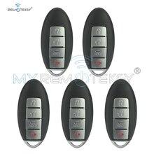 Remtekey 5 pièces CWTWBU735 clé intelligente 4 boutons 315mhz avec ID46 puce pour Nissan Maxima Sentra 2007 2008 2009 2010 2011 2012