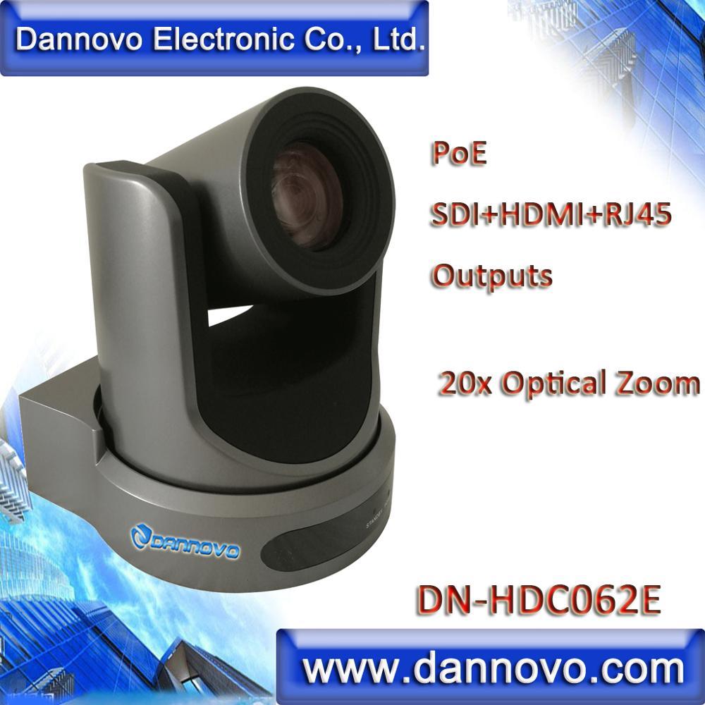 camera hd de dannovo poe para o sistema de videoconferencia 20x zoom optico onvif