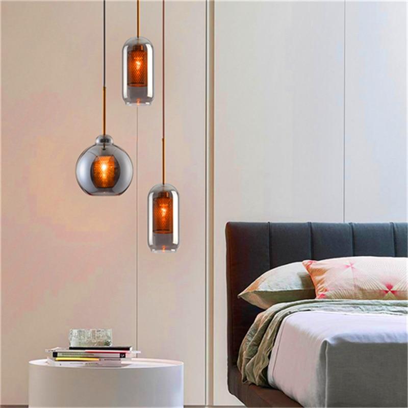 Noedic Led luces colgantes de cristal dormitorio sala de estar Hotel lámparas colgantes lámparas de cocina lámparas colgantes luminaria Avize