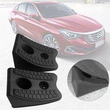 2 teile/satz Auto Auto Anti-slip Block Gummi Auto Reifen Slip Stopper Control Rad Ausrichtung Block Reifen Unterstützung Pad