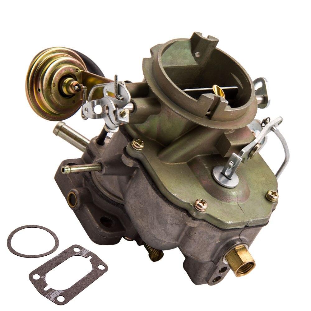 Carburador para Dodge Chrysler 318 motor 2 barril V8 5.2L 67-80 6CIL 1970, 1971, 1972, 1973, 1974 1975, 1979, 1980, 6CIL del motor