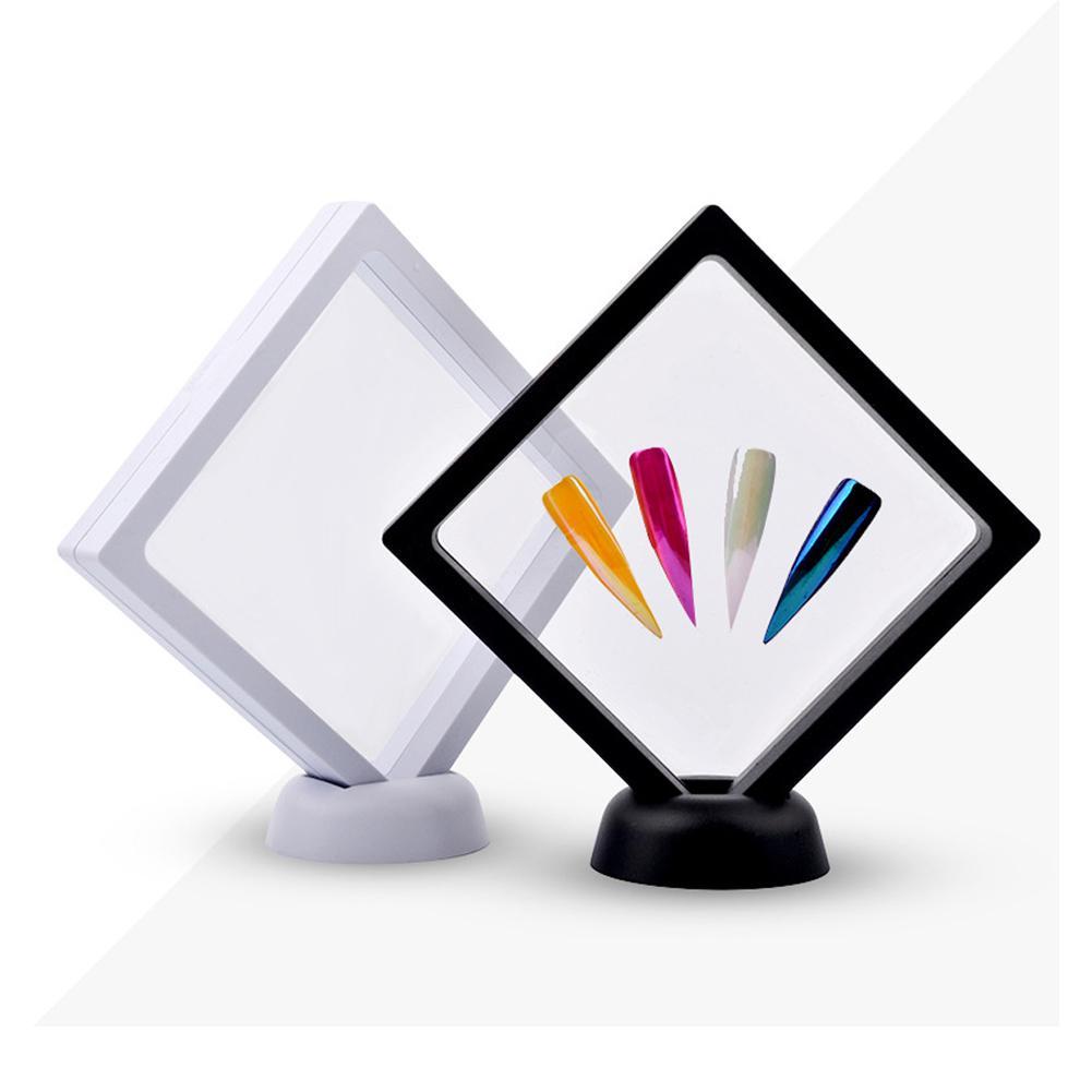 Bellylady suporte de ponta falsa para manicure, suporte de acrílico para exibição de unhas, ferramentas para arte em unhas
