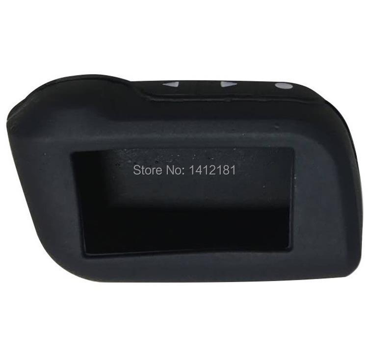 A93 Silicone Case for Russian Keychain 2 Way StarLine A93 A63 A39 A36 Car Alarm System Remote Control Key Chain Fob