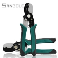 8 inch stripping pliers hardware tools multi function cable stripping electrical stripper manual croppers snips clippers